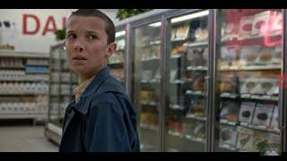 Stranger Things:Eleven steals the eggos