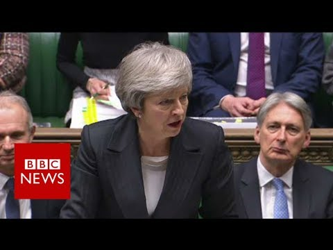 PMQs: Theresa May faces MPs' questions
