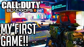 Black Ops 3 Multiplayer Gameplay - MY FIRST GAME!! - #1 (PS4 1080p HD 60fps)