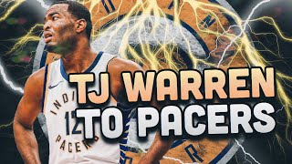 Draft Day Trade! TJ Warren Indiana Pacers Rebuild! NBA 2K19