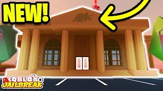 🔴 Roblox Jailbreak NEW DINOSAUR MUSEUM ROBBERY CONFIRMED! | Jailbreak New Mini Update