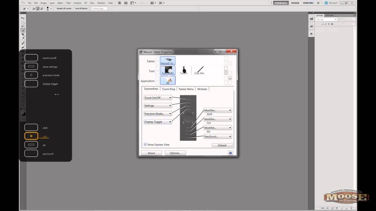 Wacom Intuos 5 Tablet Setup Youtube