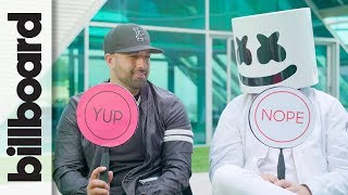 Download Song Marshmello & Moe Shalizi Play 'Never Have I Ever' | Billboard Free StafaMp3
