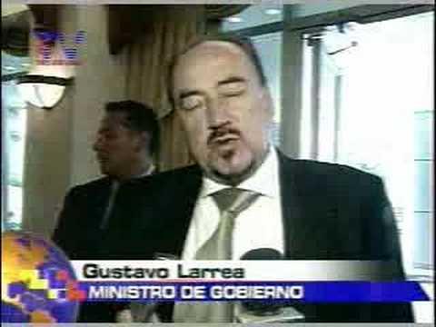 Gobierno no disolvera congreso Quito