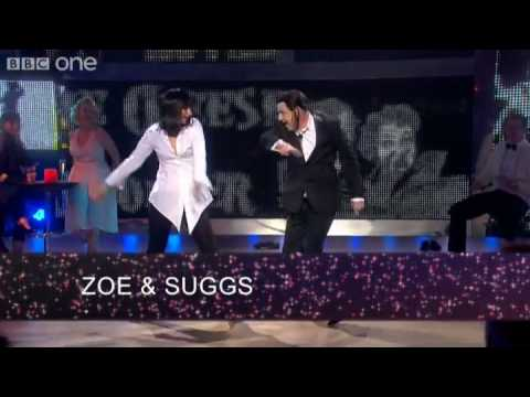 Zoe Ball and Suggs do Pulp Fiction - Let's Dance for Comic Relief - BBC One Video