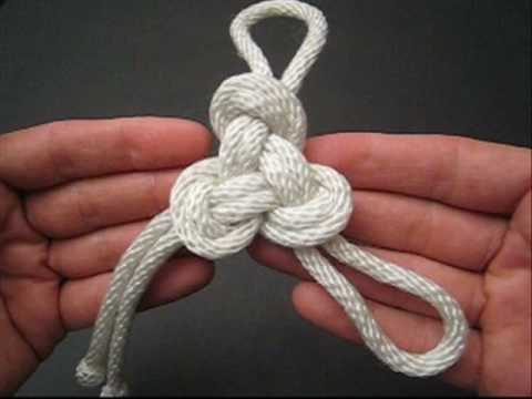 How to Tie a Triskelion Knot by TIAT Video