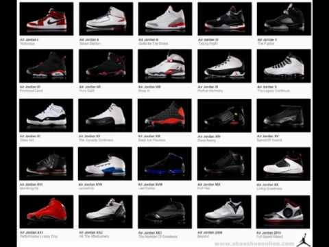 all air jordans ever made