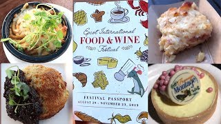 Completing EPCOT's Food & Wine Festival Cheese Trail! | New Tram Stop, Holiday Merch & EPCOT Forever