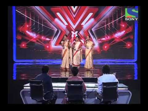 X Factor India - Sajda Sisters' Lovely Performance On Dola Re Dola - X Factor India - Episode 4 -  1st June 2011 video