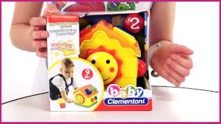 Baby Clementoni  Сортировочный домик Разноцветные формочки 60328)