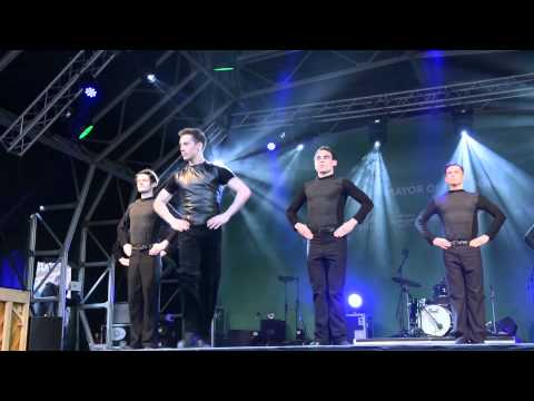 RIVERDANCE at St Patrick's Festival TRAFALGAR SQUARE London