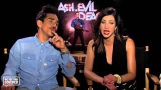 Exclusive Interview: Dana DeLorenzo and Ray Santiago Talk Ash vs. Evil Dead