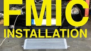 BMW 335i - how to install aftermarket FMIC