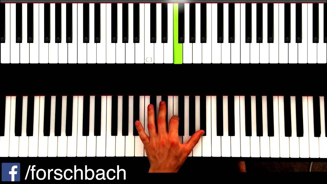 Kiss the rain Piano Tutorial - deutsch - Teil 4 - Yiruma - YouTube