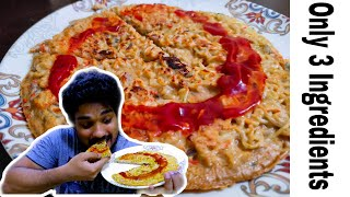 Only 3 Ingredients Pizza Recipe During LockDown   Healthy High Protein Cheat meal Recipe