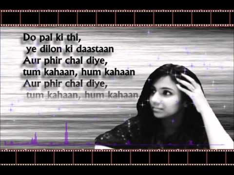 Do Pal Ruka By Ayesha Taufeeq (Cover Song) 2013