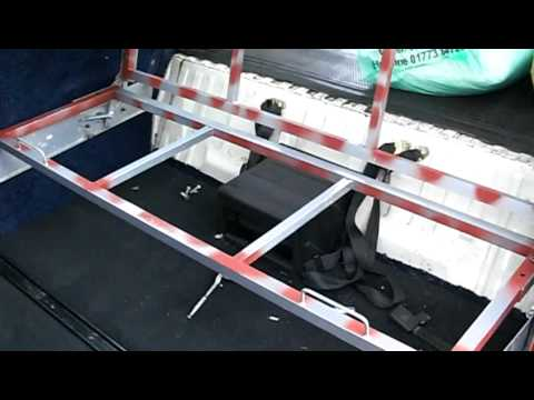 Vw T25 T2 Part 5 How To Make A Rock N Roll Bed Youtube