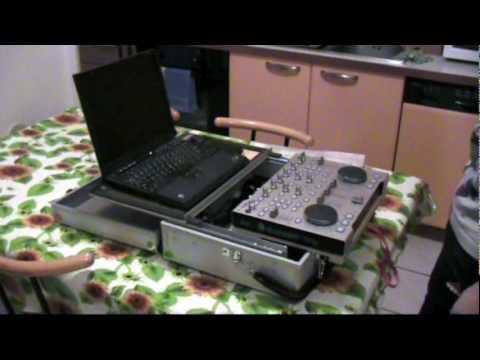 Valigia a cassetta per Hercules DJ Console RMX