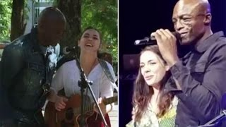 Seal got a busker Poppy to open for him at his Manchester show