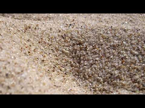 (3D binaural sound) Asmr sounds of sand