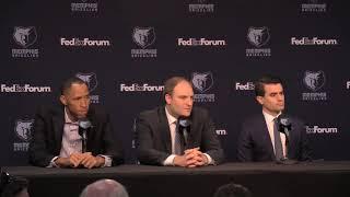 Memphis Grizzlies new coach Taylor Jenkins on hiring female coaches