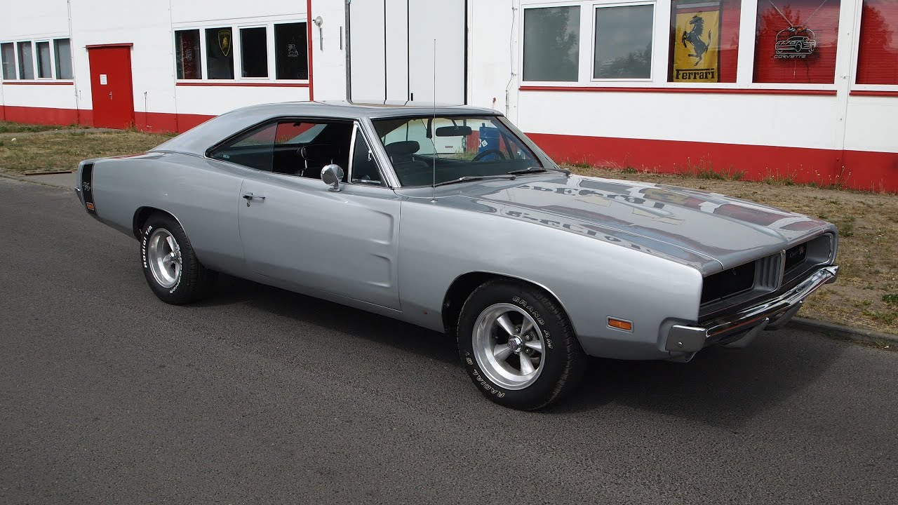 Dodge Charger 1969 Rt Mit 530 Ps V8 Motor Youtube