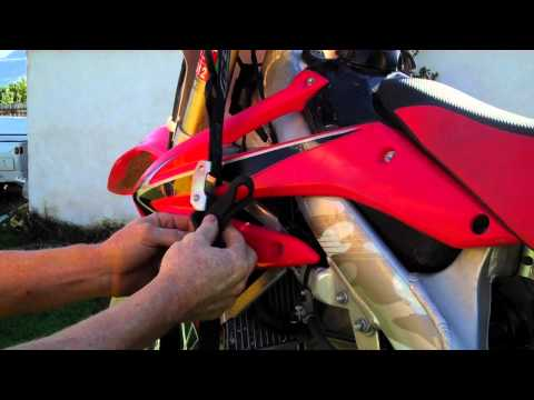 How to tie down your dirt bike The number 4 knot
