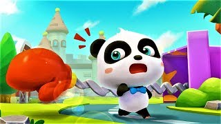 Baby Panda Save The Town, Play Vehicles Fun Puzzle Games For Kids