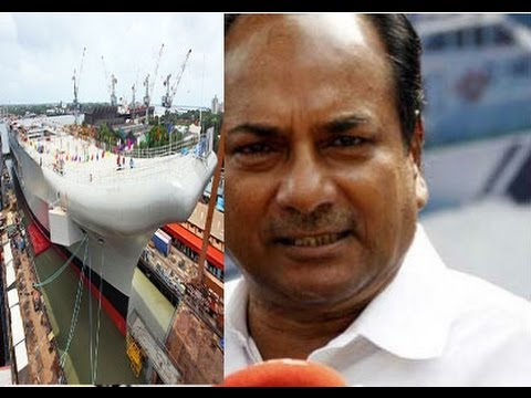 AK Antony Inagurates INS Vikrant, India's 1st indigenous aircraft carrier