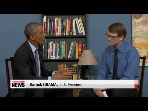 Obama says Internet, not force or sanctions, will bring down N. Korea   오바마 &quo