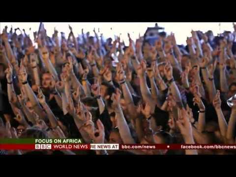 BBC World News 'Focus On Africa'  11th of March, 2016. #MusicIsOurWeapon #SarabiJourney