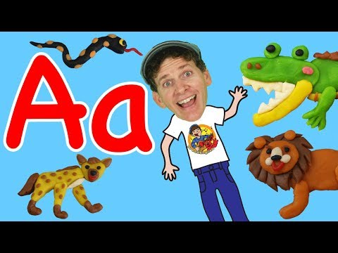 Animal Alphabet Phonics Song For Kids | Wild Animals | Learn English Children