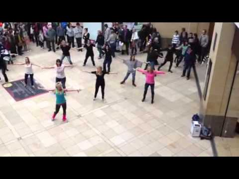 Cambridge Zumba Flash mob
