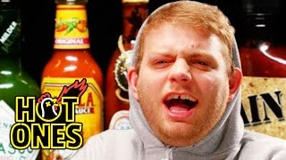 Mac DeMarco Tries to Stay Chill While Eating Spicy Wings | Hot Ones