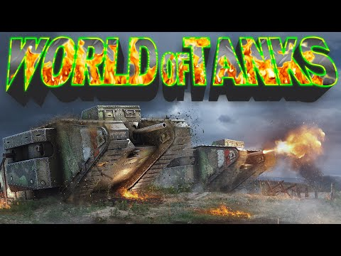 World of Tanks (Xbox One): Mark 1  #WorldofTanks #re4perofd34th