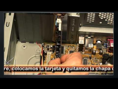 Instalar tarjeta sonido Sound Blaster Audigy 2 Parte 1 de 2