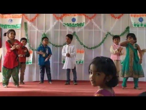 Chirag Dancing on Rang de Basanti thodi si dhool meri Song