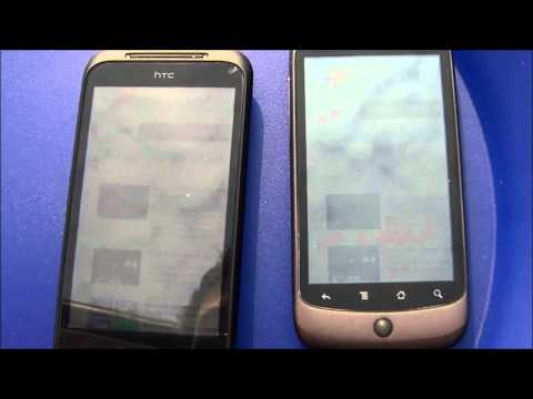 HTC Incredible S vs HTC Nexus One Super LCD vs AMOLED in der Sonne