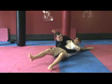 Kesa Gatame Escape - Bridge and Roll Image 1