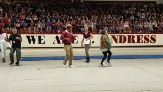 Dance Teacher wins dance off to Juju on that Beat!