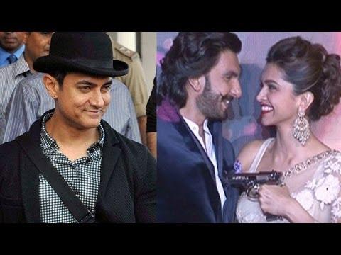 Planet Bollywood News - Aamir Khan dons his Dhoom 3 hat, Ranveer Singh & Deepika Padukone celebrated Diwali together & more