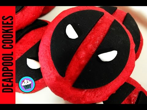 How to make Deadpool Cookies   Pinch of Luck