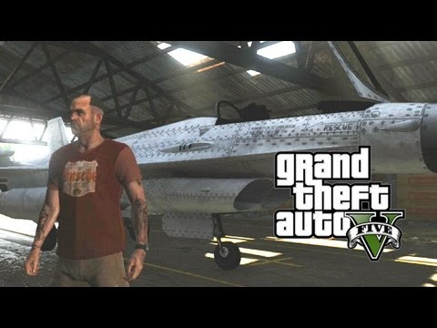 GTA 5 - Fighter Jet Guide & Easiest Way to get one