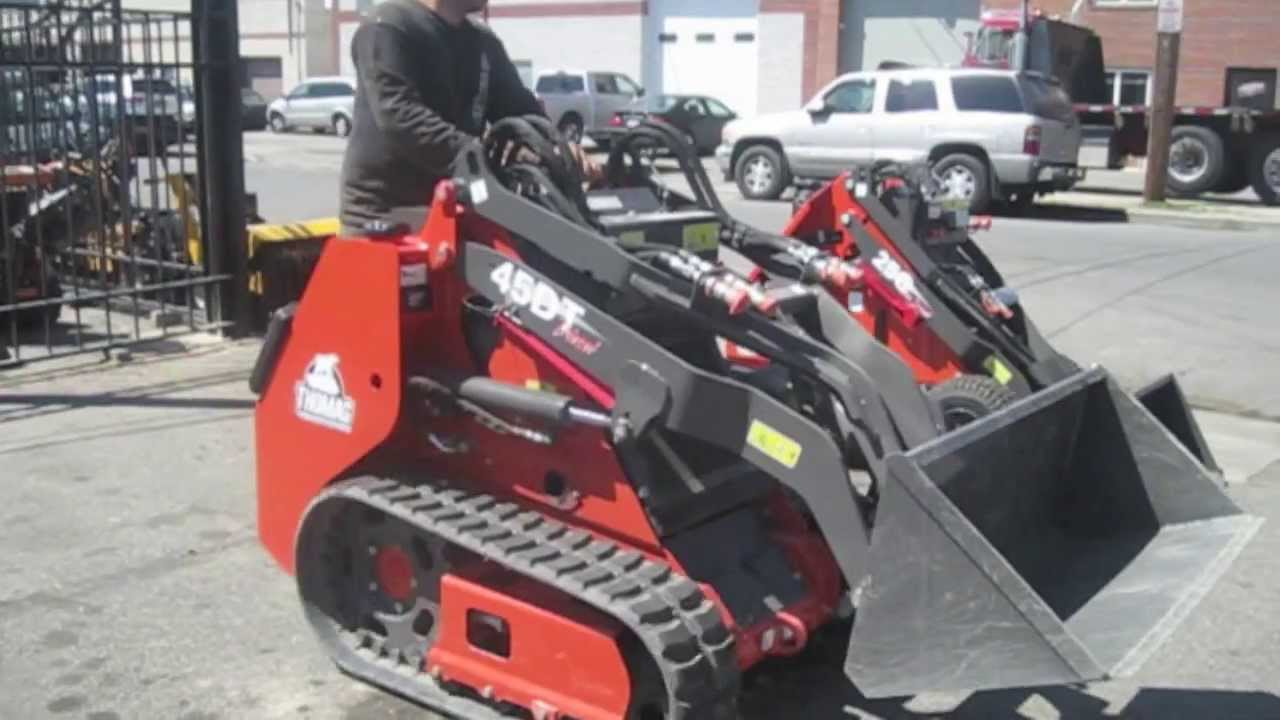 thomas mini skid steer compact tool loader 45dt thomas 153 skid steer manual thomas skid steer repair manual