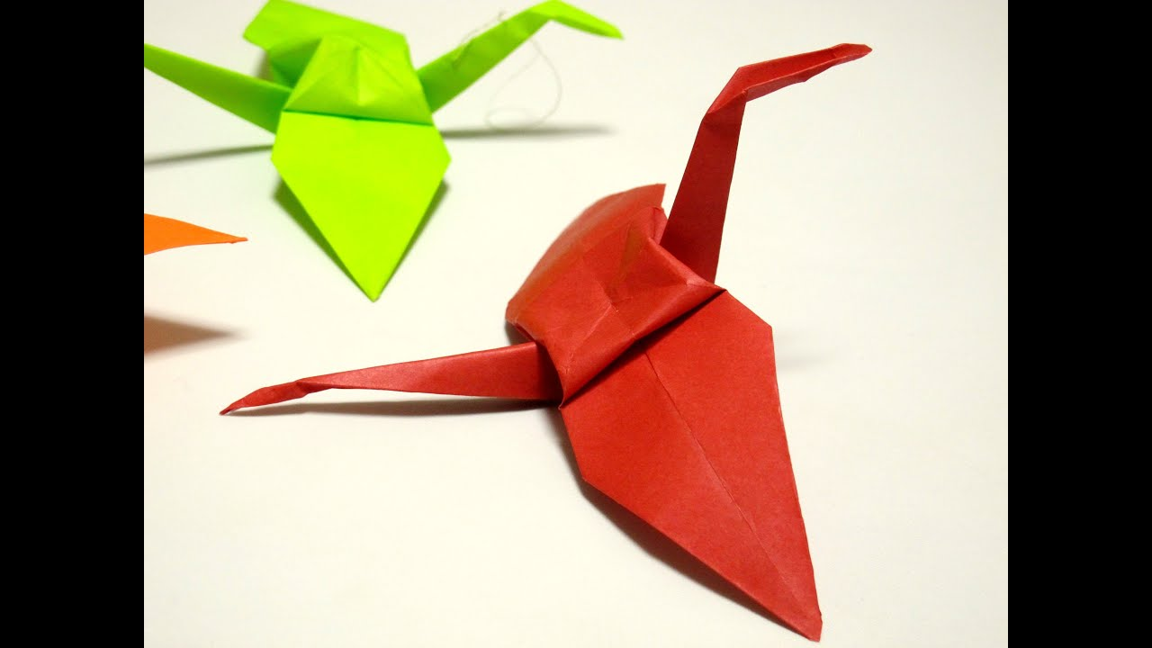 Origami Crane Instructions  origamifuncom