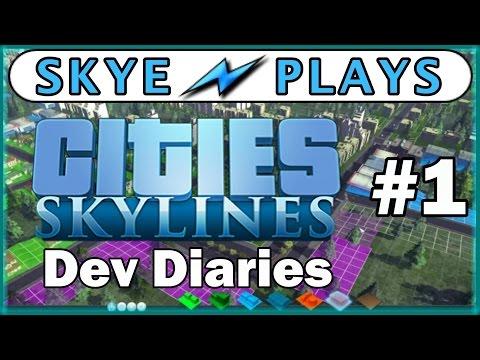 Cities: Skylines Dev Diaries Part 1 ► Roads ◀