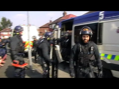 SHOCKING HOME EVICTION by CORPORATE POLICE!!!!