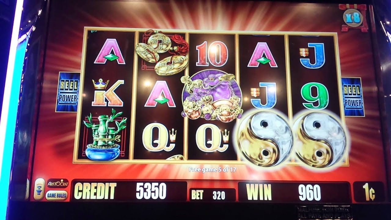 5 frogs slot machine