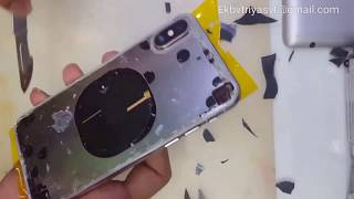 iPhone X back glass replacement (iphone xs,iphone xs max)