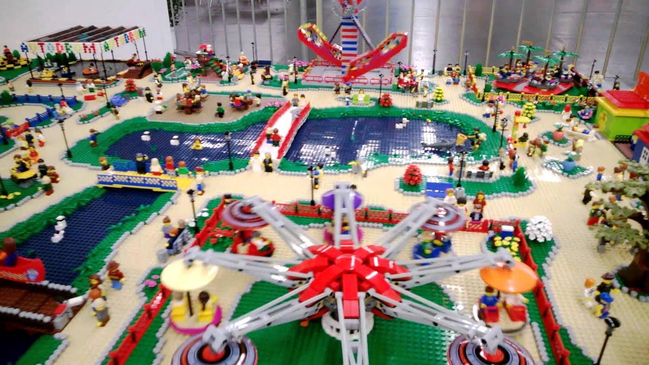 LEGO Amusement Park In Kids Fest Vienna 2013 YouTube